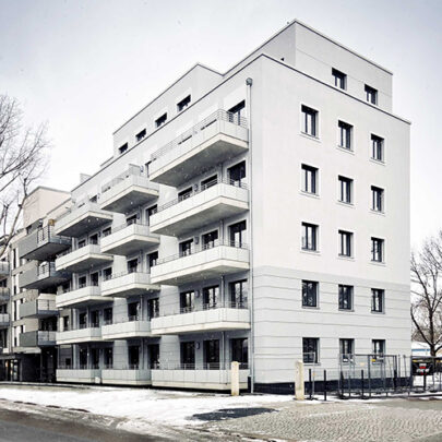 KLM Architekten Dresden Wohnungsbau Uhlandstrasse