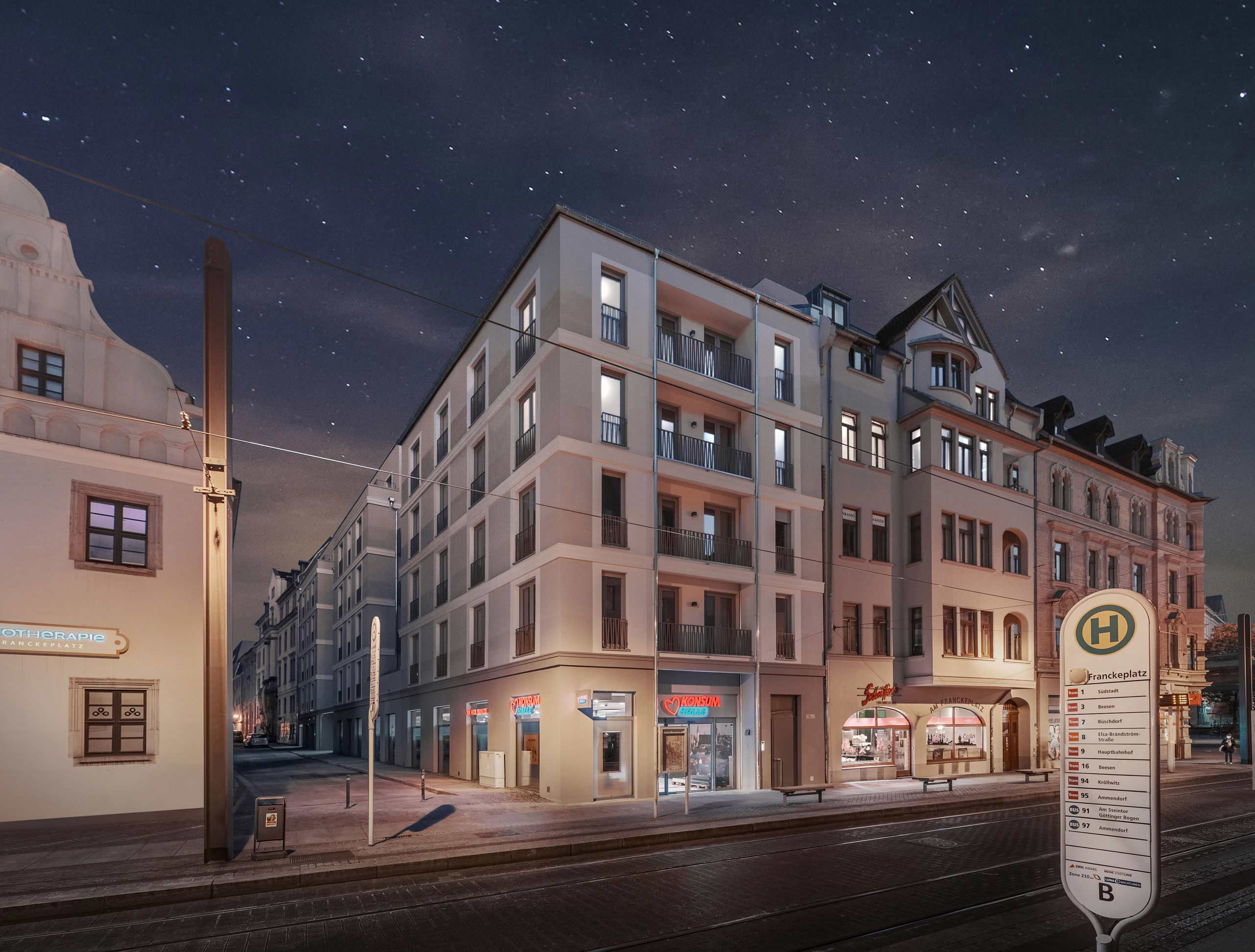 Wohnungsbau KLM Architetken Leipzig