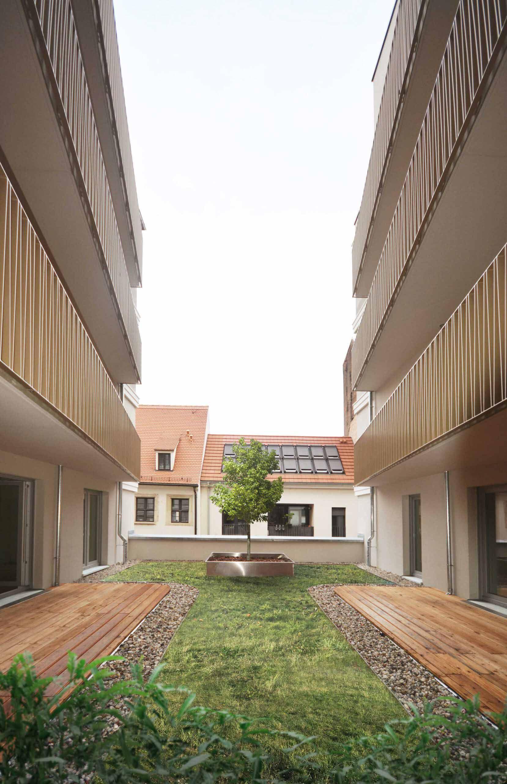 Quartier am Riesenhaus KLM Architekten Leipzig