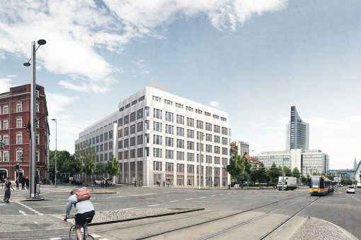 Bürogebäude Mercateo Leipzig KLM Architekten Leipzig