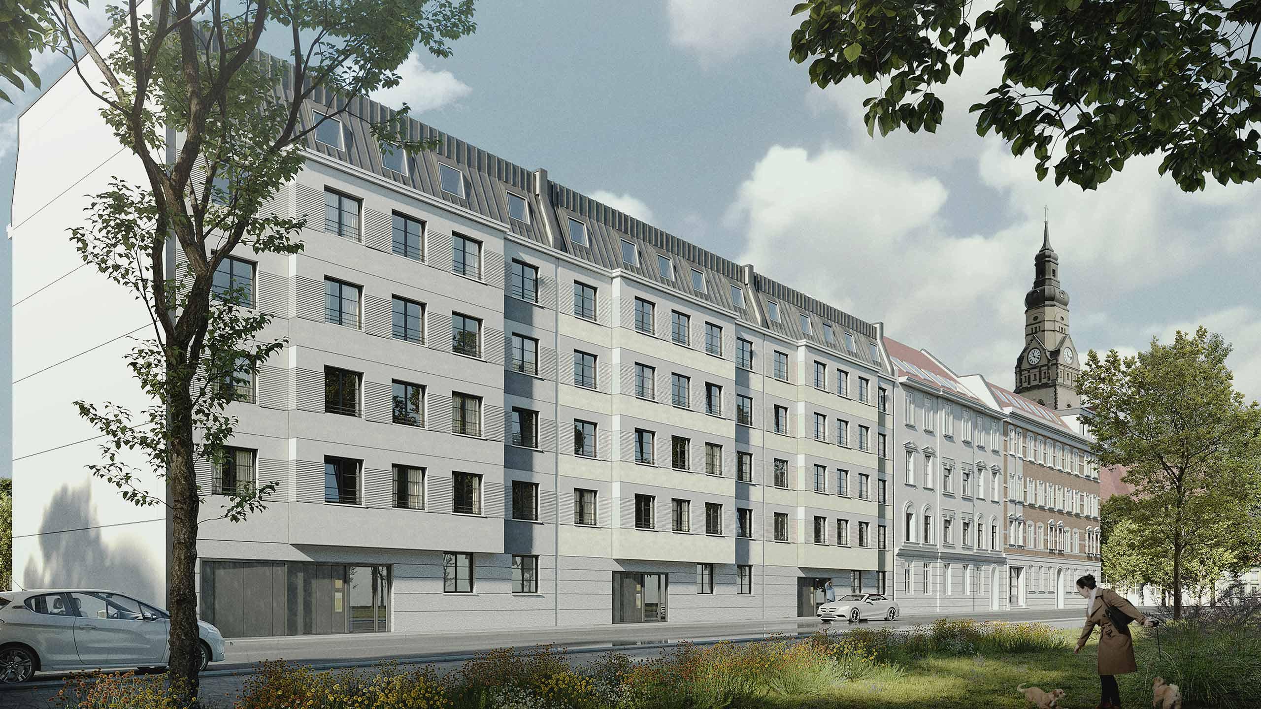 Wohnungsbau KLM Architekten