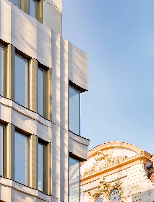 Bernsteincarré Fassade KLM Architekten