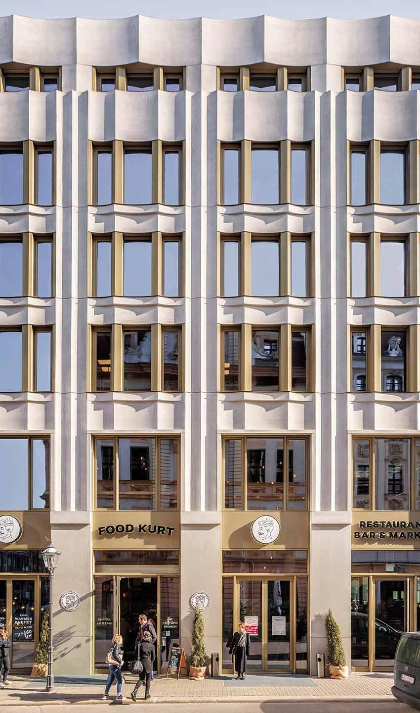 Bernsteincarré Fassade