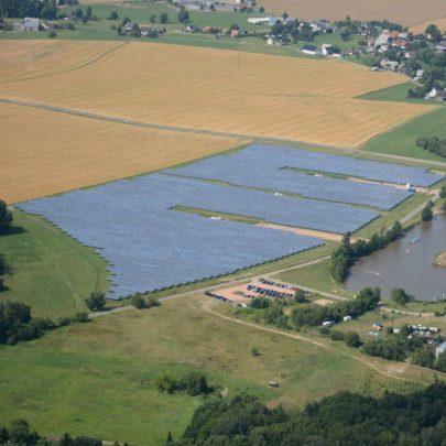 Solaranlage Oberrossau