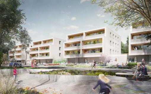 Wohngebäude Zwenkau Birkenhain KLM Architekten Leipzig