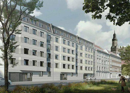 Aurelienstraße Wohnungsbau Leipzig KLM Architekten Leipzig