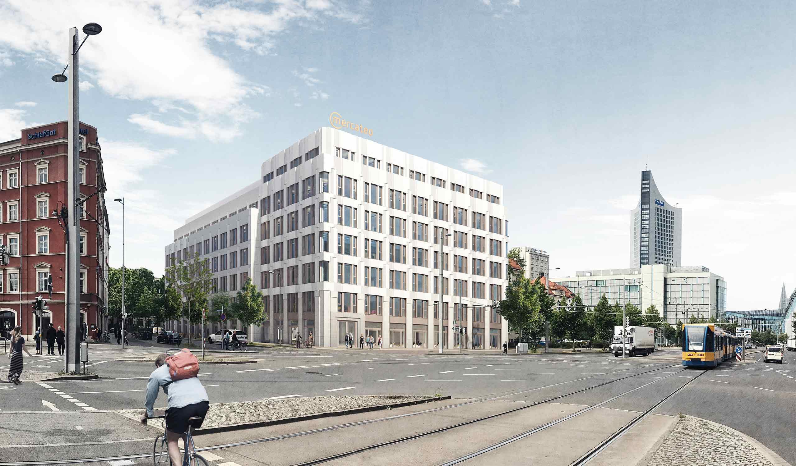 Bürogebäude Mercateo Leipzig