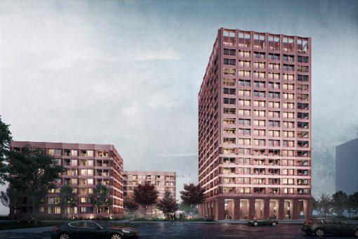 Hochhaus Semmelweisstraße KLM Architekten