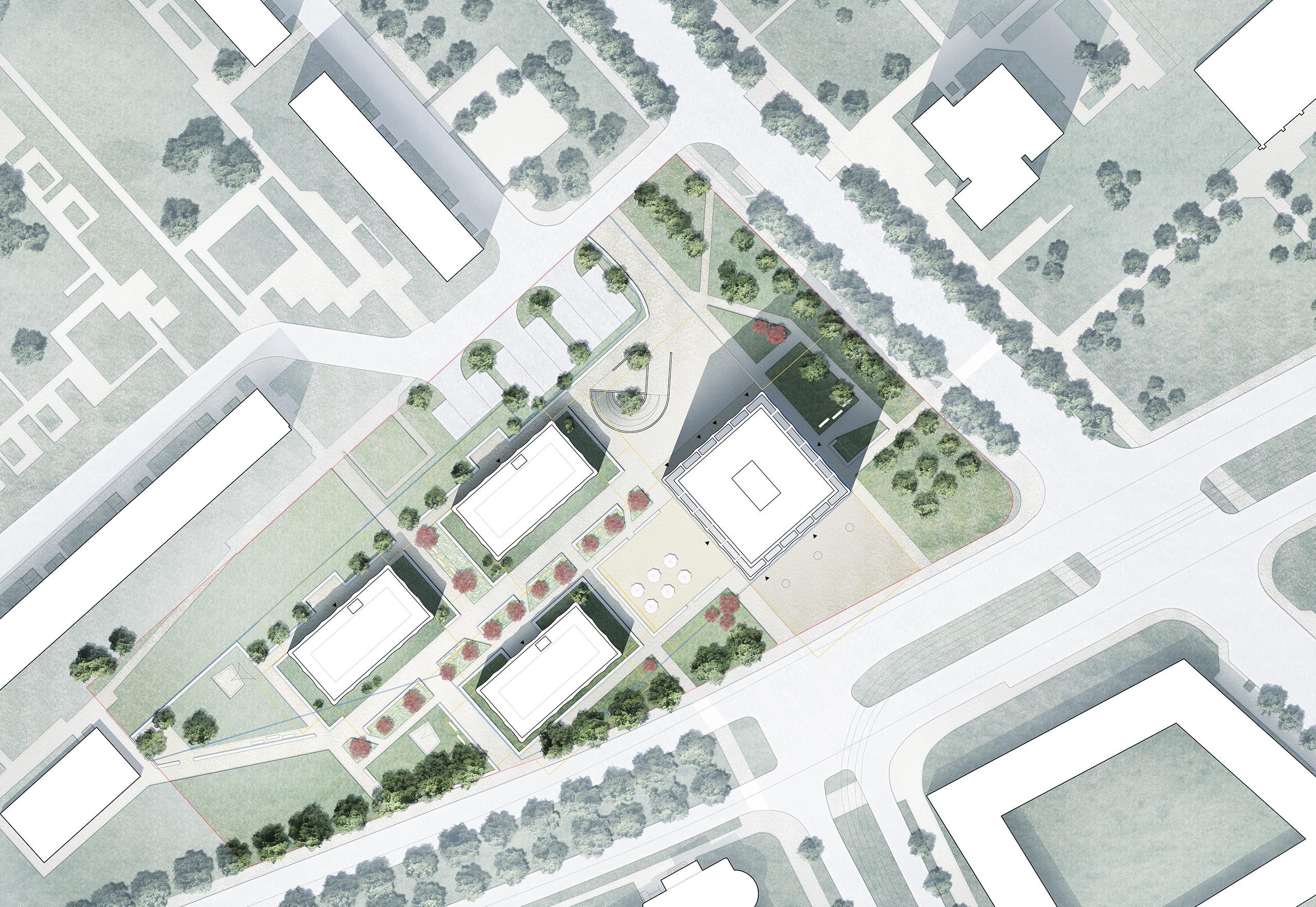 Semmelweisstraße Lageplan