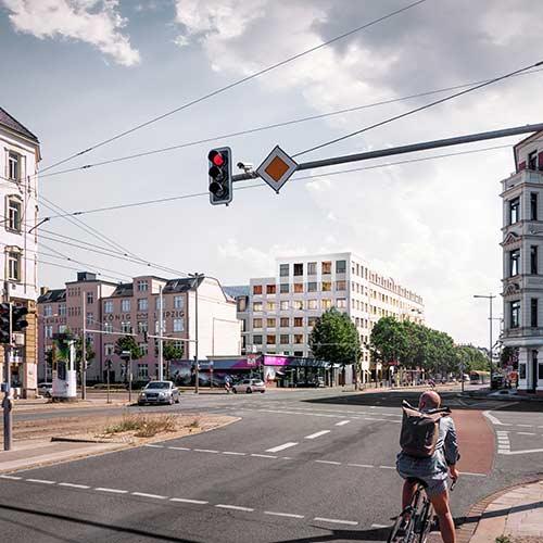 KLM Architekten Wohnungsbau Leipzig Dresdner Strasse 01