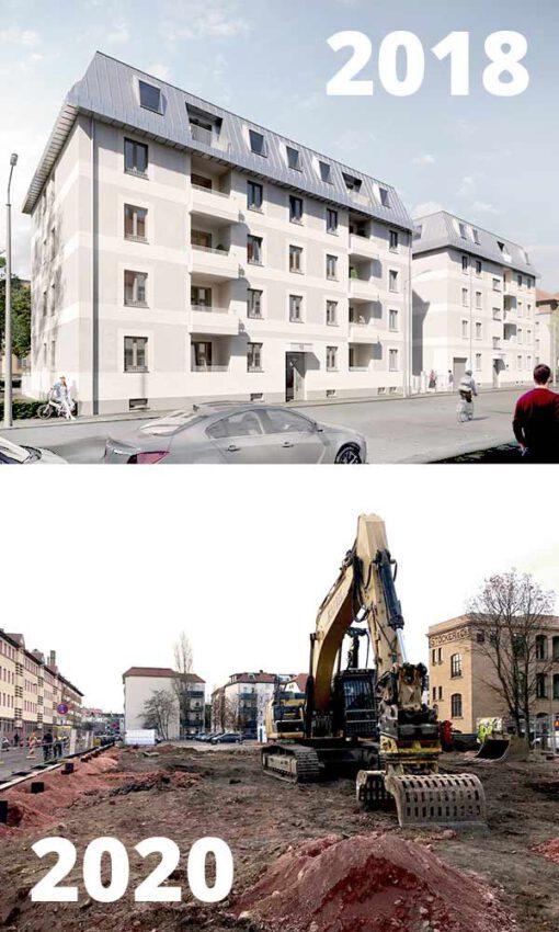Wohngebäude Leipzig Plagwitz KLM Architekten