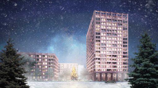 KLM Architekten Weihnachtsgrüsse