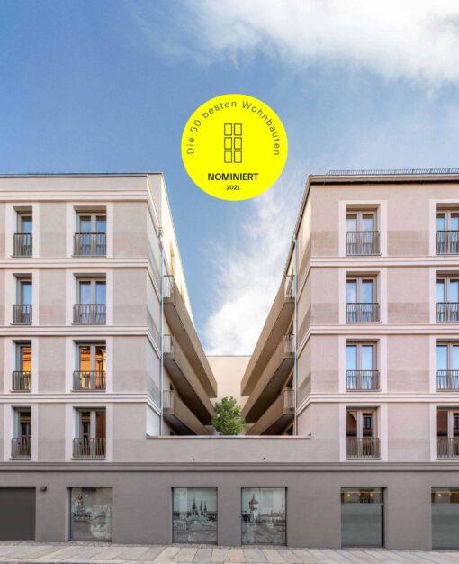 Wohnbauten des Jahres Nominierung KLM Architekten