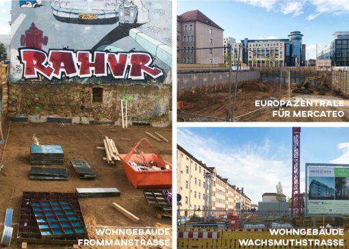 KLM Architekten Baustellen Leipzig
